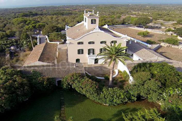 Una de las finca más lujosas y distinguidas de Menorca.