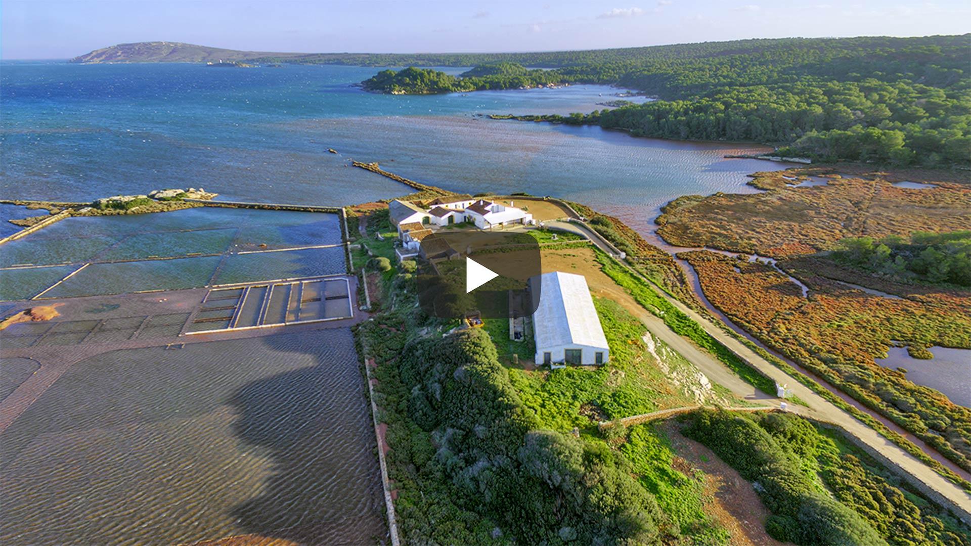 Simbiosis perfecta entre mar y campo en Menorca