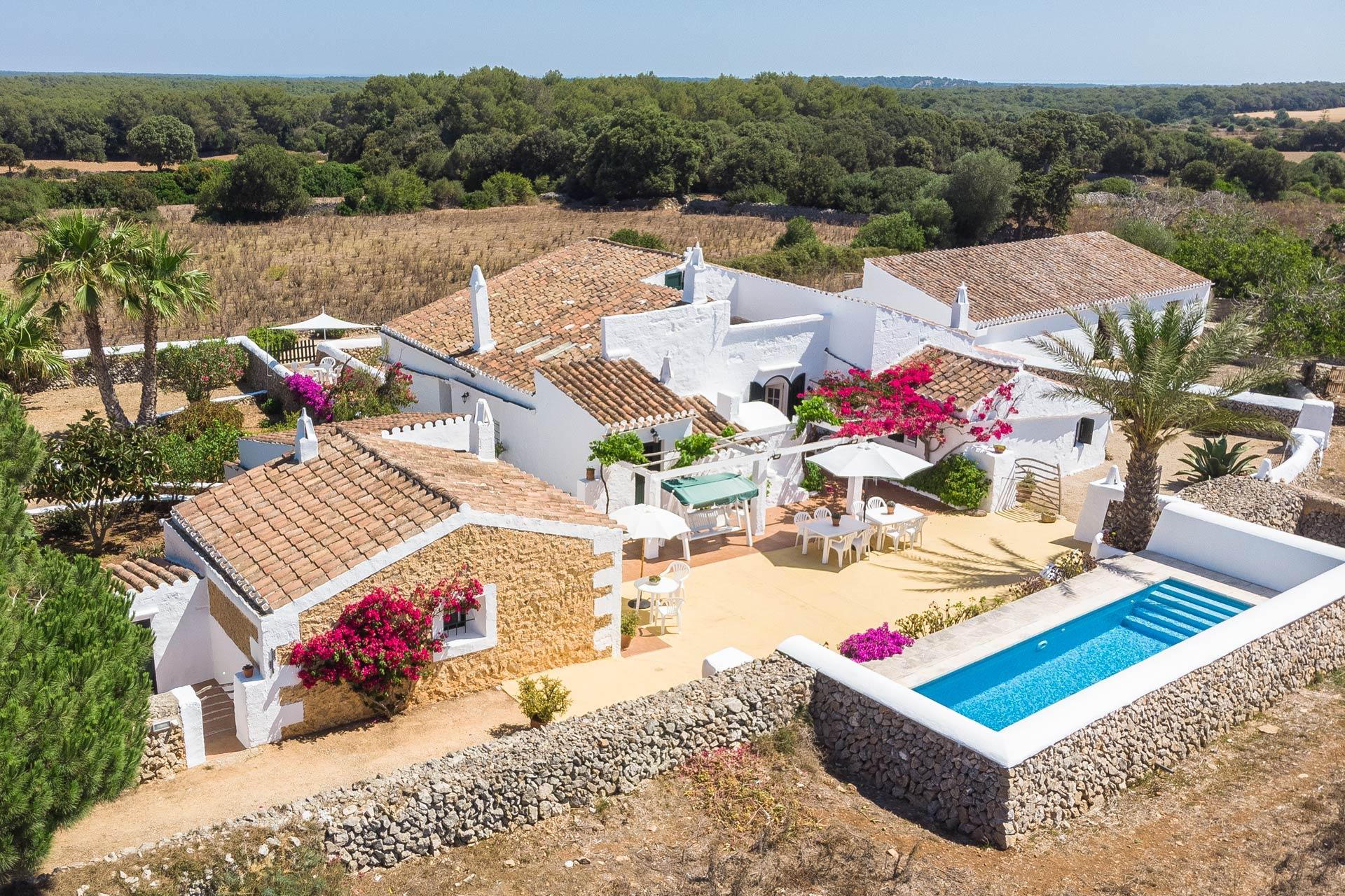 Finca rústica con todo el encanto de Menorca
