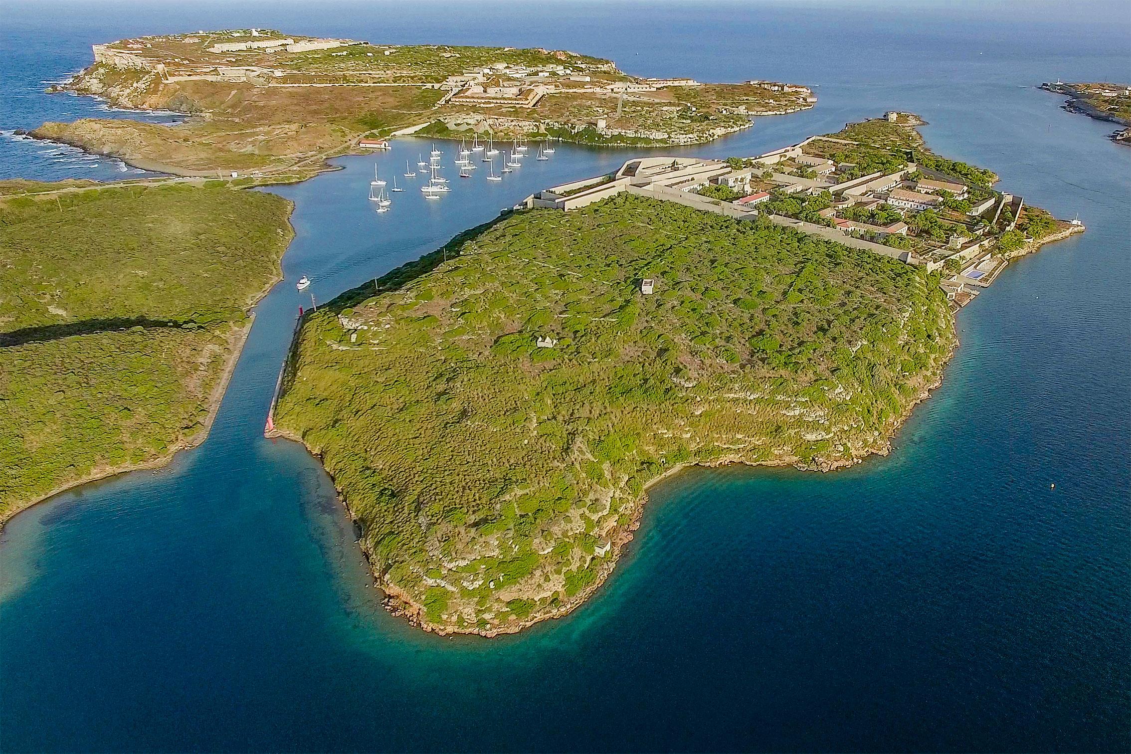 En venta la isla Lazareto de Menorca