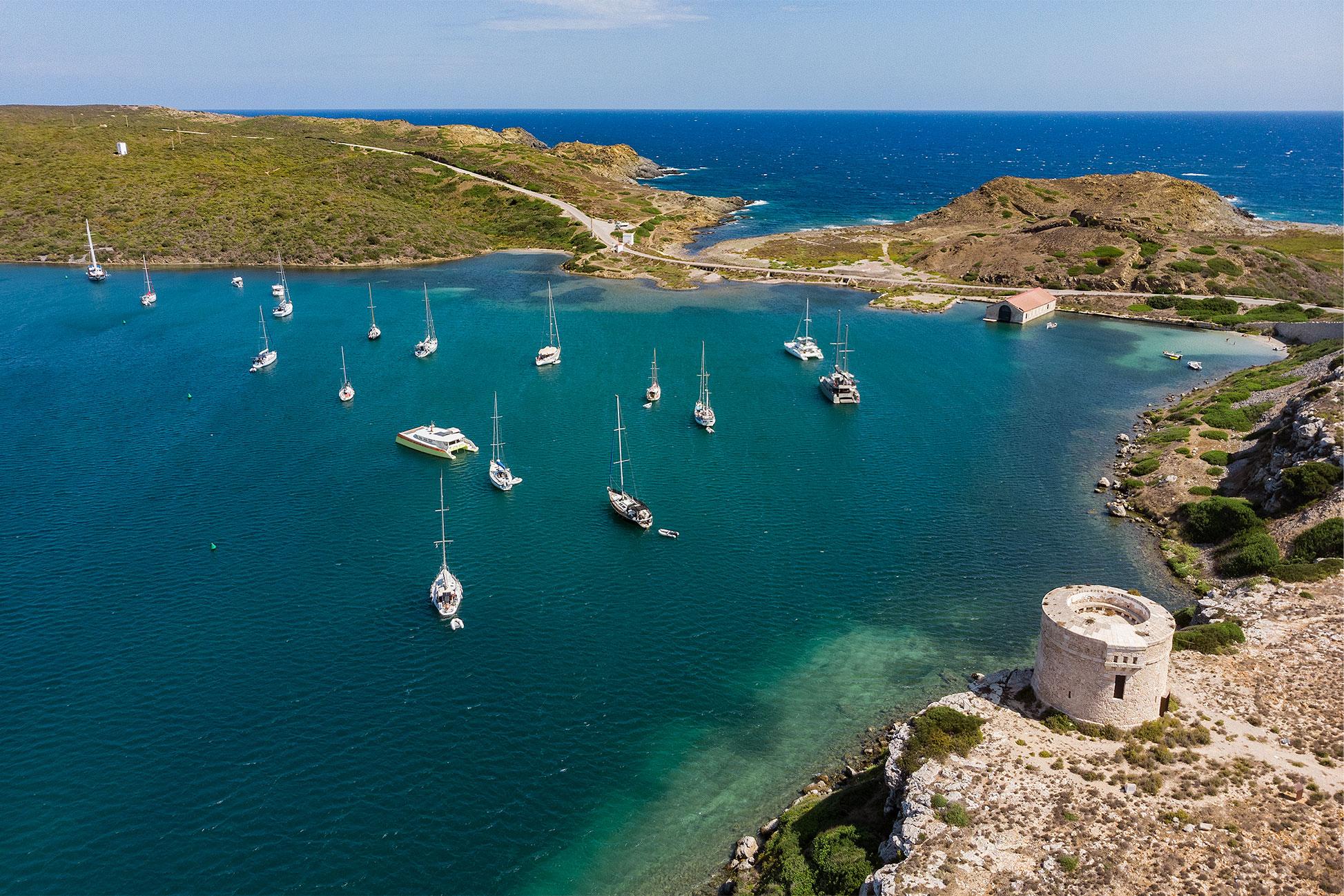 Playa secreta de Menorca