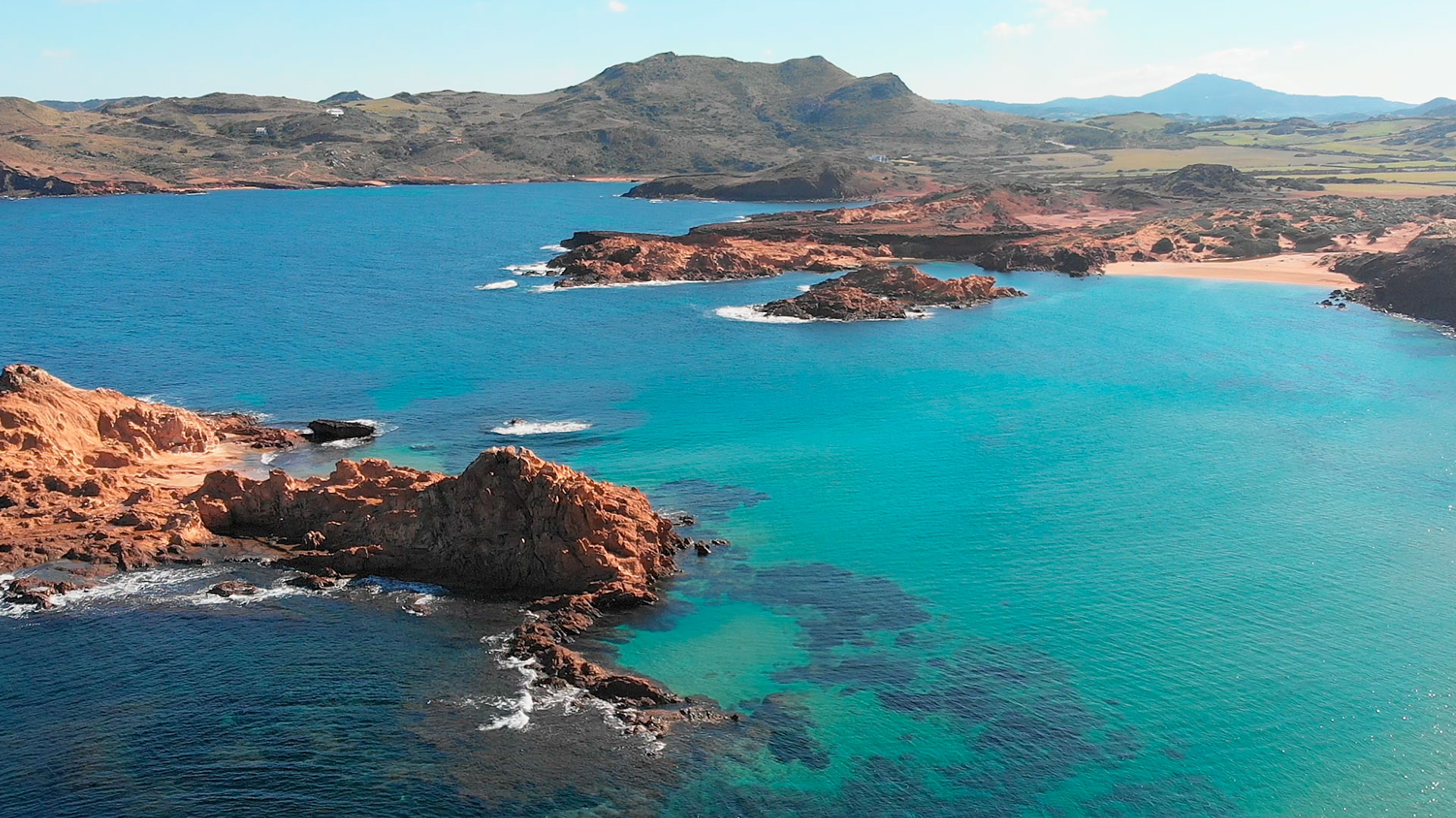 The country estate with the best beach in Menorca