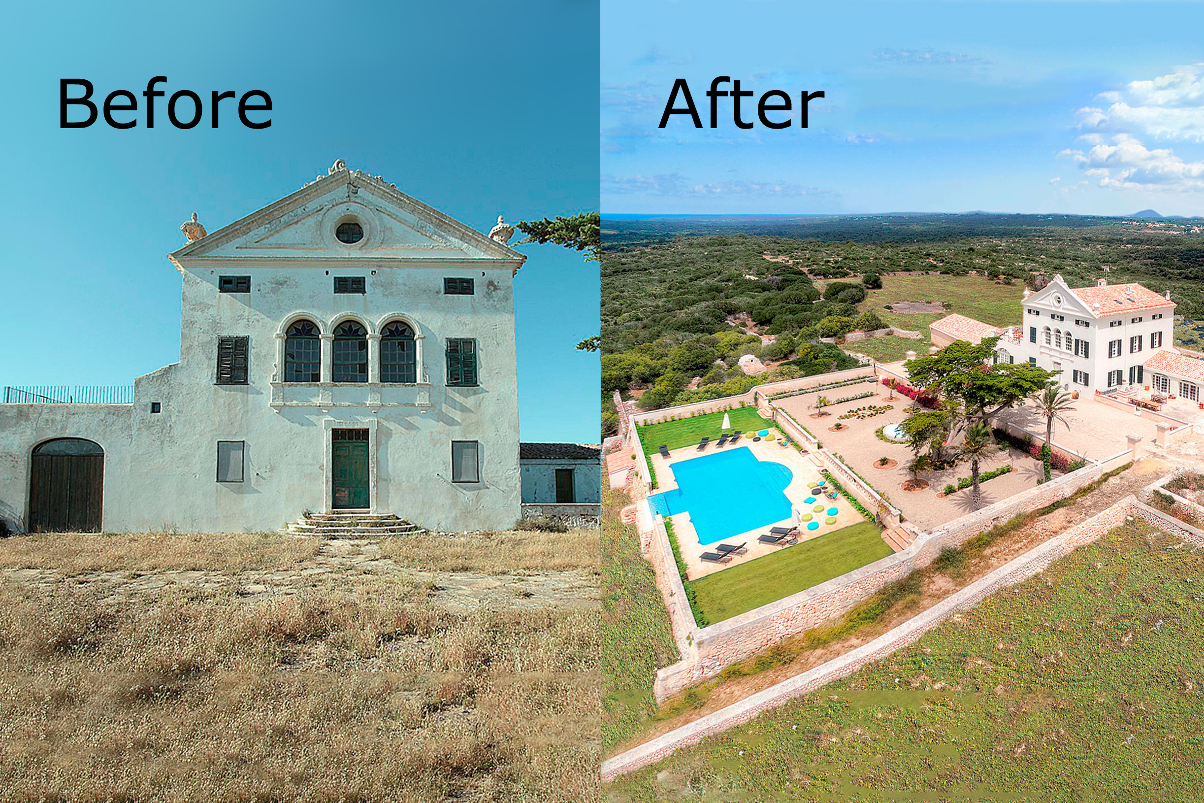 Refurbishing a house in Menorca and surviving the experience