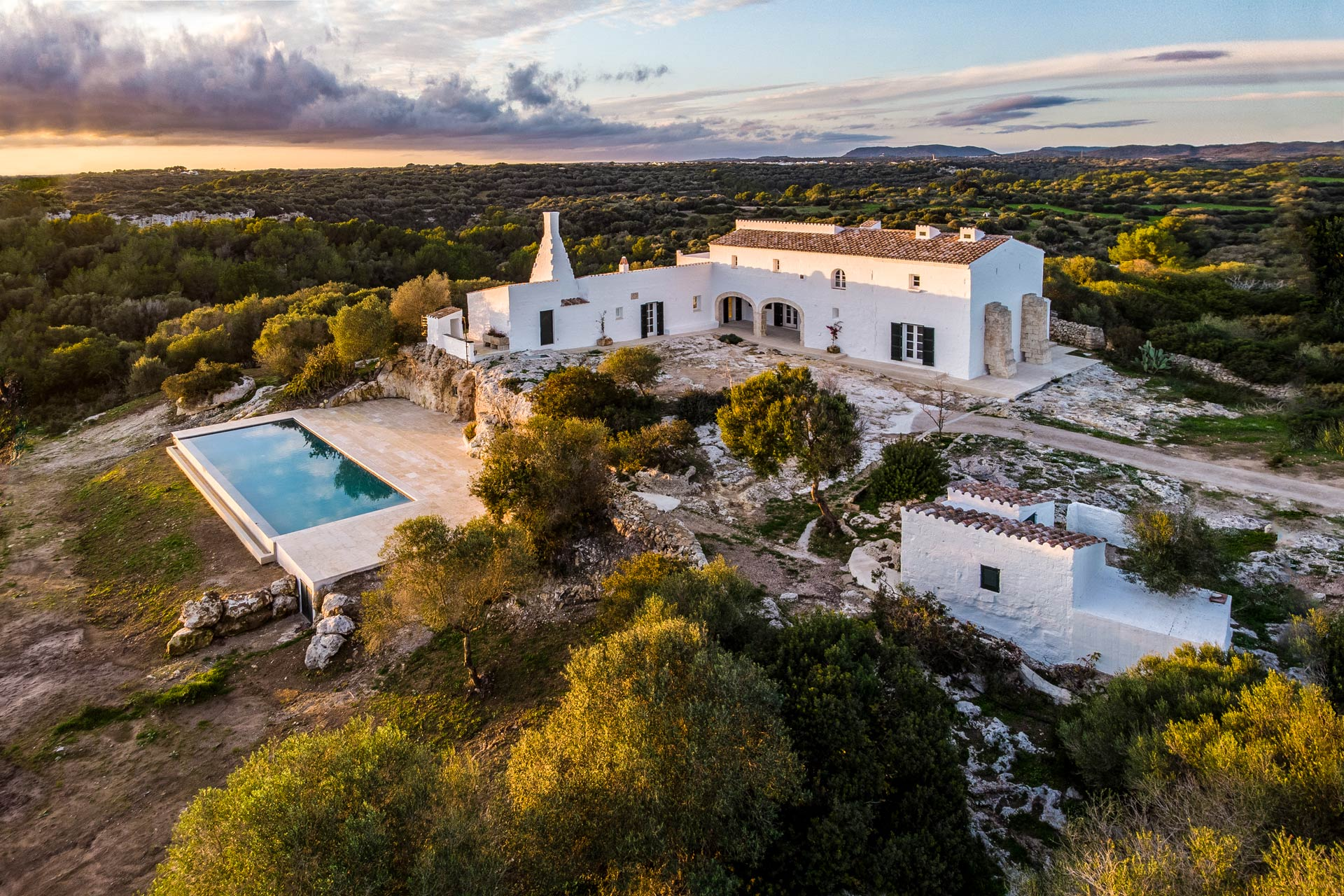 The most charming country estate for sale in Menorca