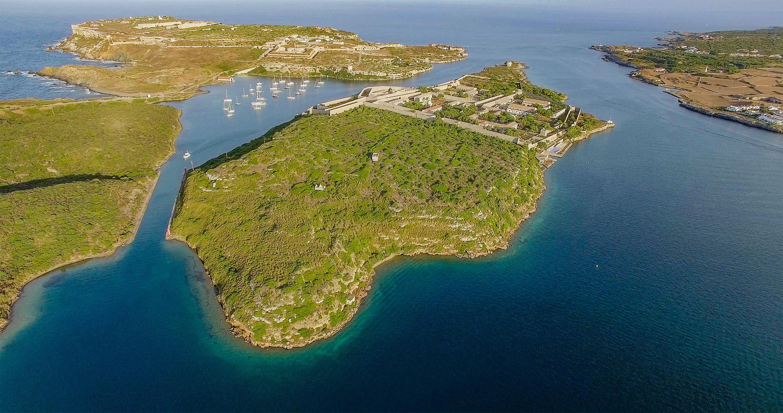 L'île de Lazareto à Minorque est à vendre