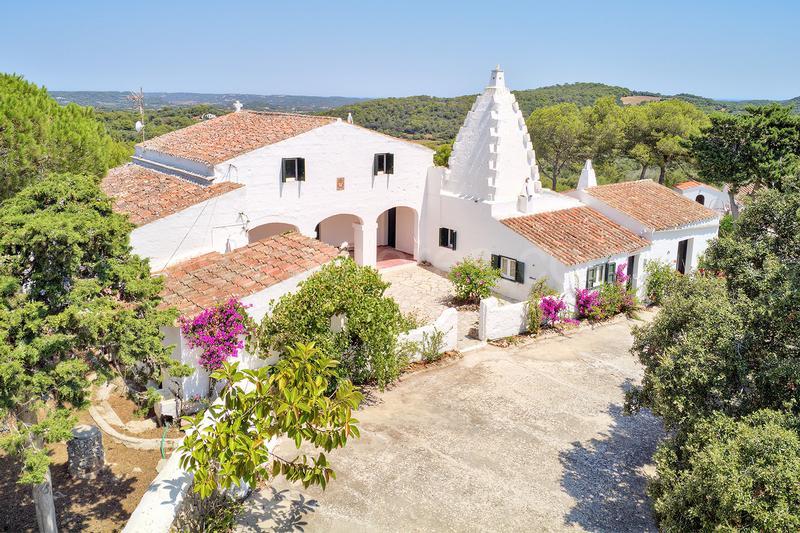 Les maisons de campagne de Minorque